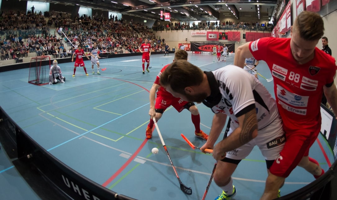 Playoff 1/2-Final, Spiel 5: Floorball Köniz – UHC Alligator Malans