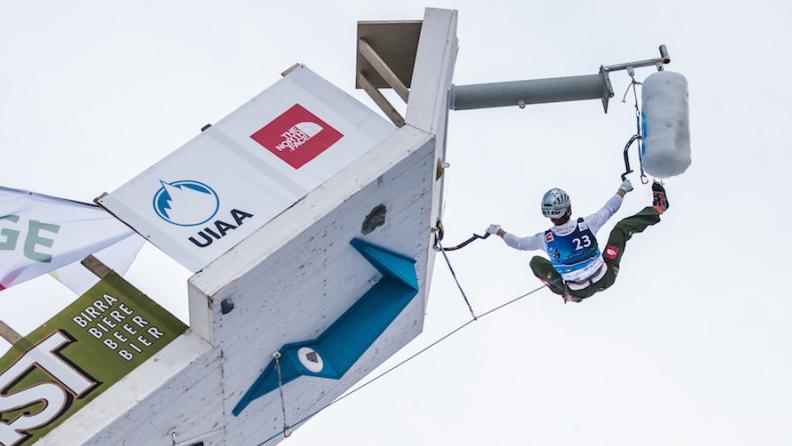 Ice Climbing Worldcup, Rabenstein/Corvara (I)