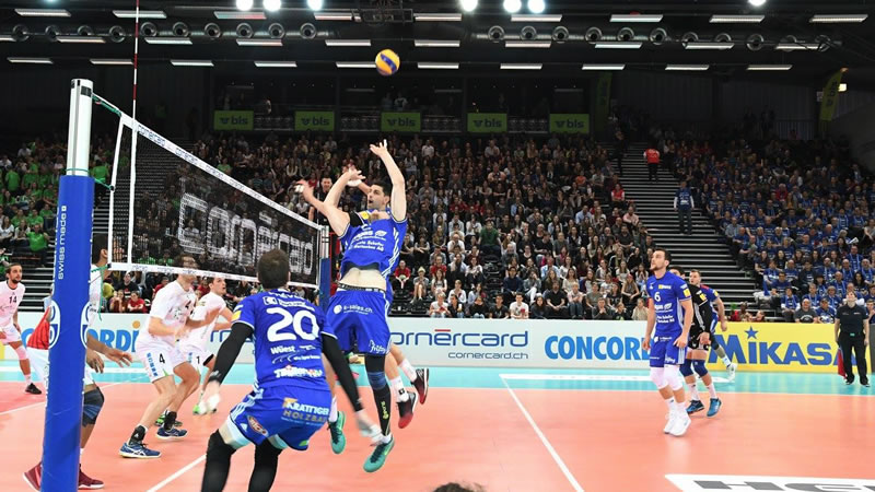 Cup 1/8-Final: LINDAREN Volley Amriswil – Chênois Genève Volleyball