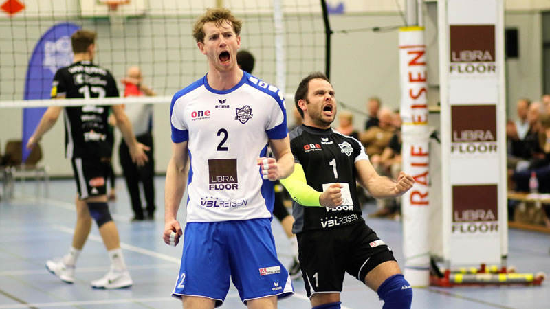 Cup 1/4-Final: Volley Luzern – Volley Amriswil