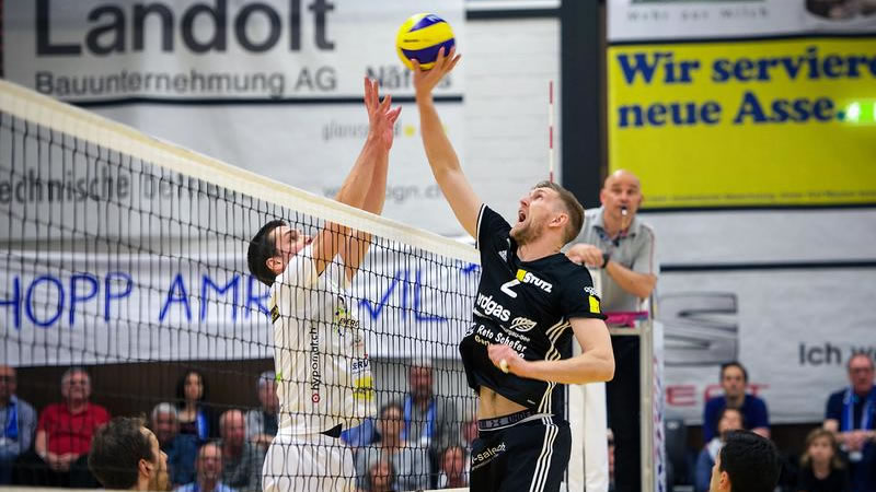 Cup 1/8-Final: biogas volley näfels – Lausanne UC
