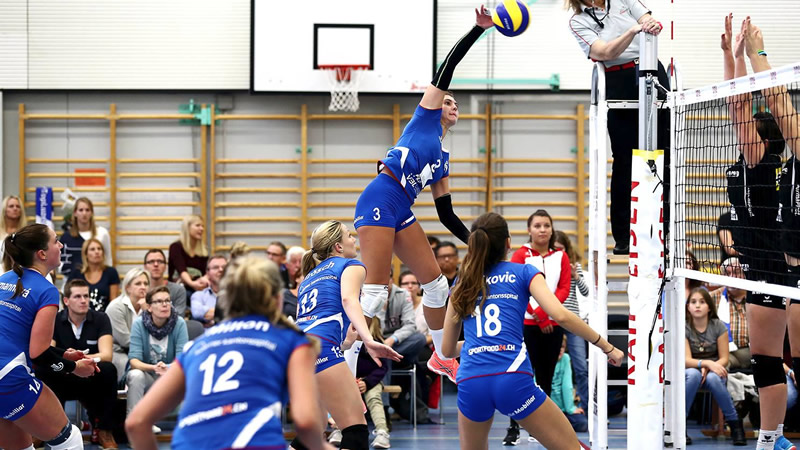 Playouts 1. Spiel: Volley Top Luzern – Volley Lugano