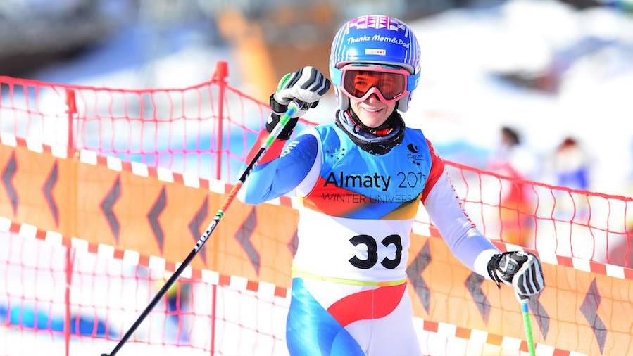 Winteruniversiade: Alpine Kombination Slalom Frauen, Krasnoyarsk (RUS)