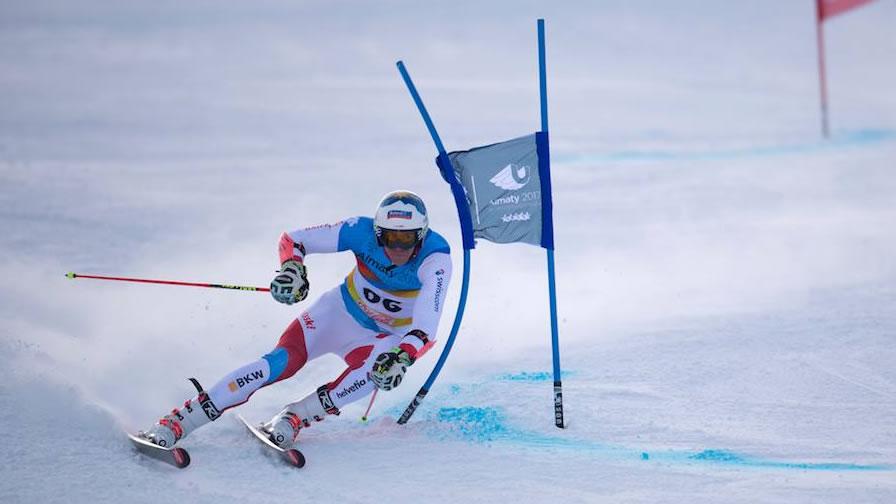 Winteruniversiade: Riesenslalom Männer 2. Lauf, Krasnoyarsk (RUS)