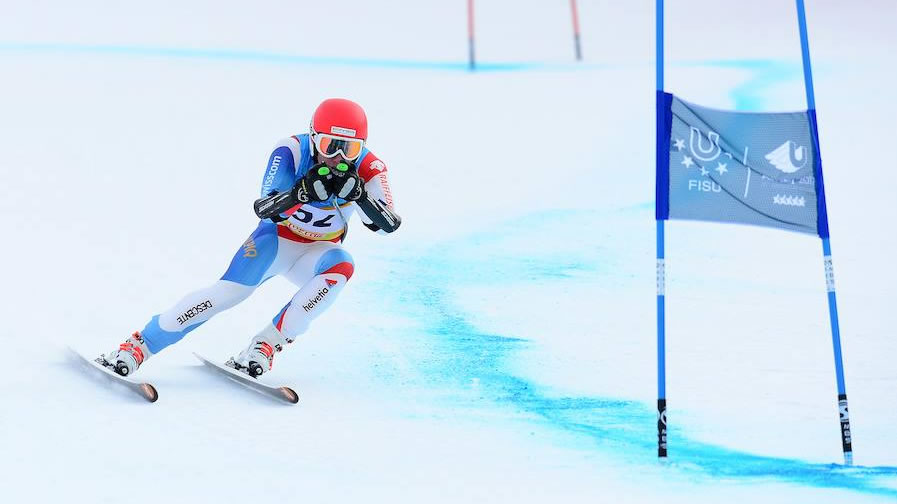 Winteruniversiade: Alpine Kombination Super-G Männer, Krasnoyarsk (RUS)