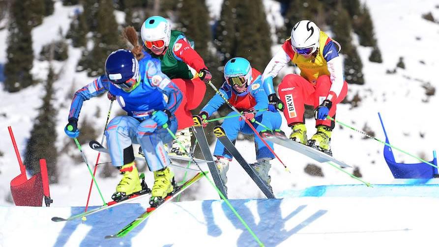 Winteruniversiade: Freestyle Ski Cross, Krasnoyarsk (RUS)