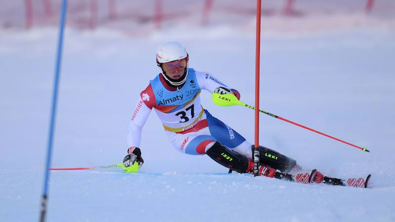 Winteruniversiade: Slalom Frauen 2. Lauf, Krasnoyarsk (RUS)