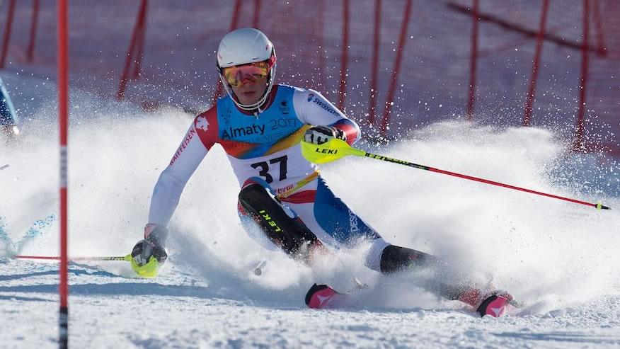 Winteruniversiade: Slalom Männer 2. Lauf, Krasnoyarsk (RUS)