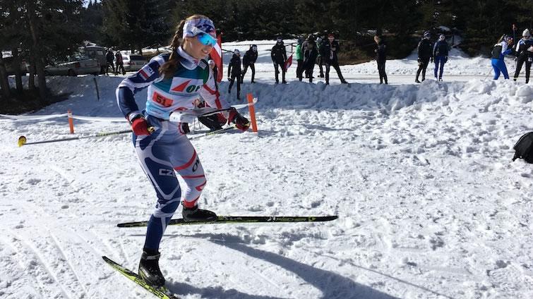 Winteruniversiade: Ski-OL Mitteldistanz Frauen, Krasnoyarsk (RUS)