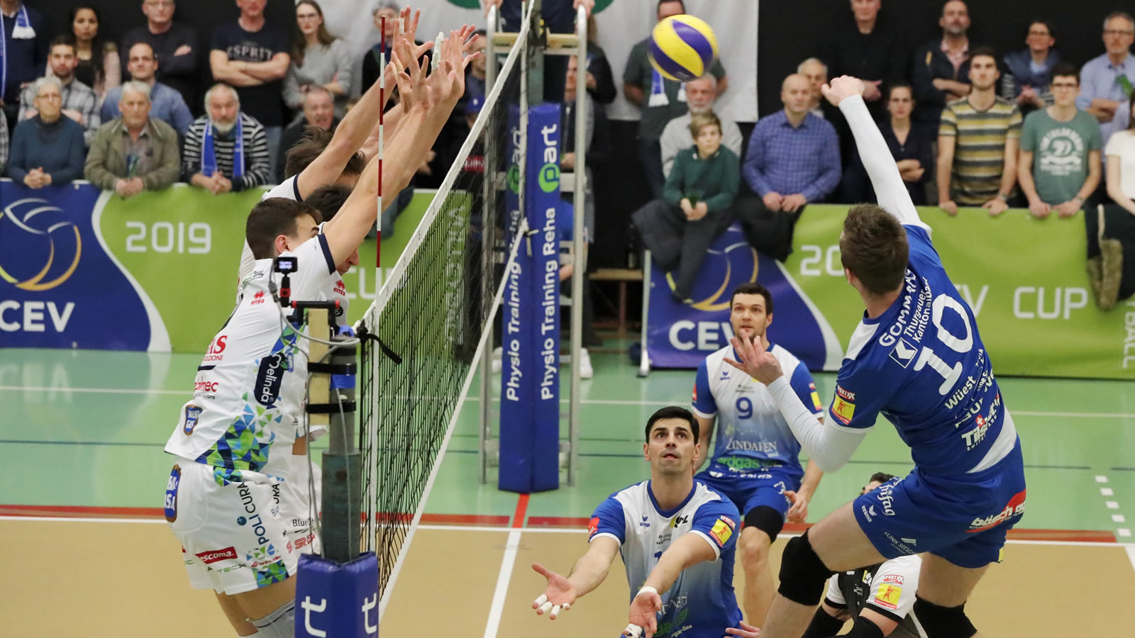 Playoff 1/4-Final, Spiel 1: LINDAREN Volley Amriswil – TSV Volley Jona