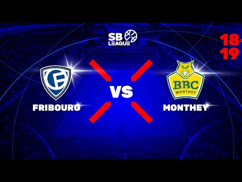 SB League – Playoff 1/2 G1: FRIBOURG vs. MONTHEY