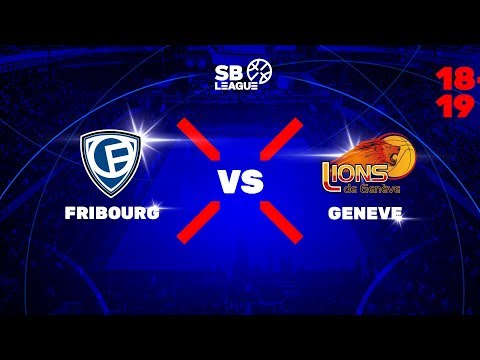 SB League – Final Day 1: FRIBOURG vs. GENEVE