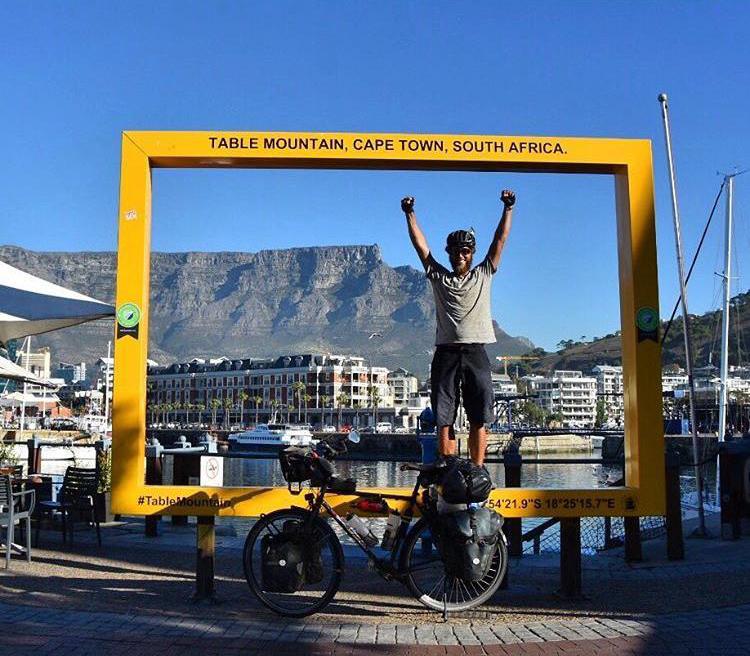 Lukas Steiner: Mit dem Velo nach Südafrika