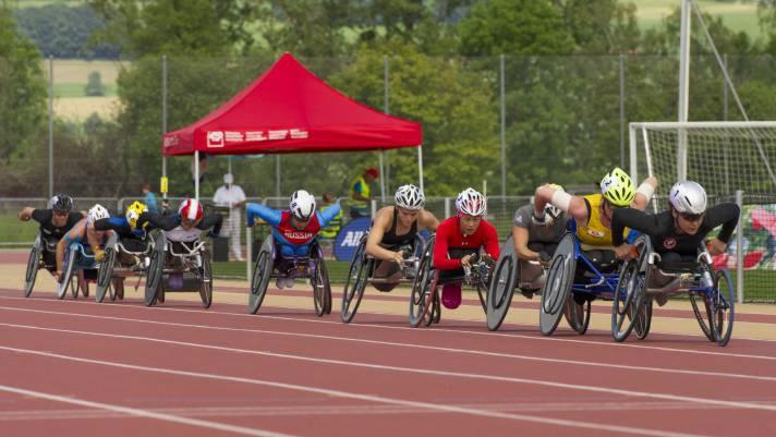 Leichtathletik Junioren Weltmeisterschaften Behindertensport, Nottwil LU