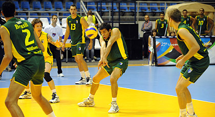 Sommeruniversiade: Volleyball Final Männer