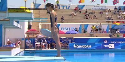 Sommeruniversiade: Wasserspringen