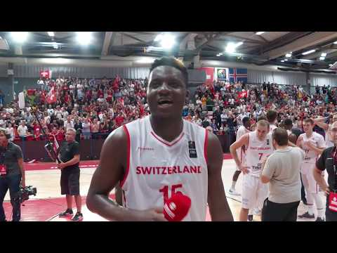 Switzerland vs Iceland: Clint Capela's after game interview [2021 FIBA Europe Pre-qualifiers]