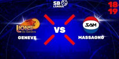 SB League - Day 1: GENEVE vs. MASSAGNO