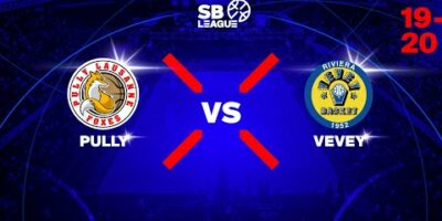 SB League – Day 1: PULLY LAUSANNE FOXES vs. VEVEY RIVIERA BASKET