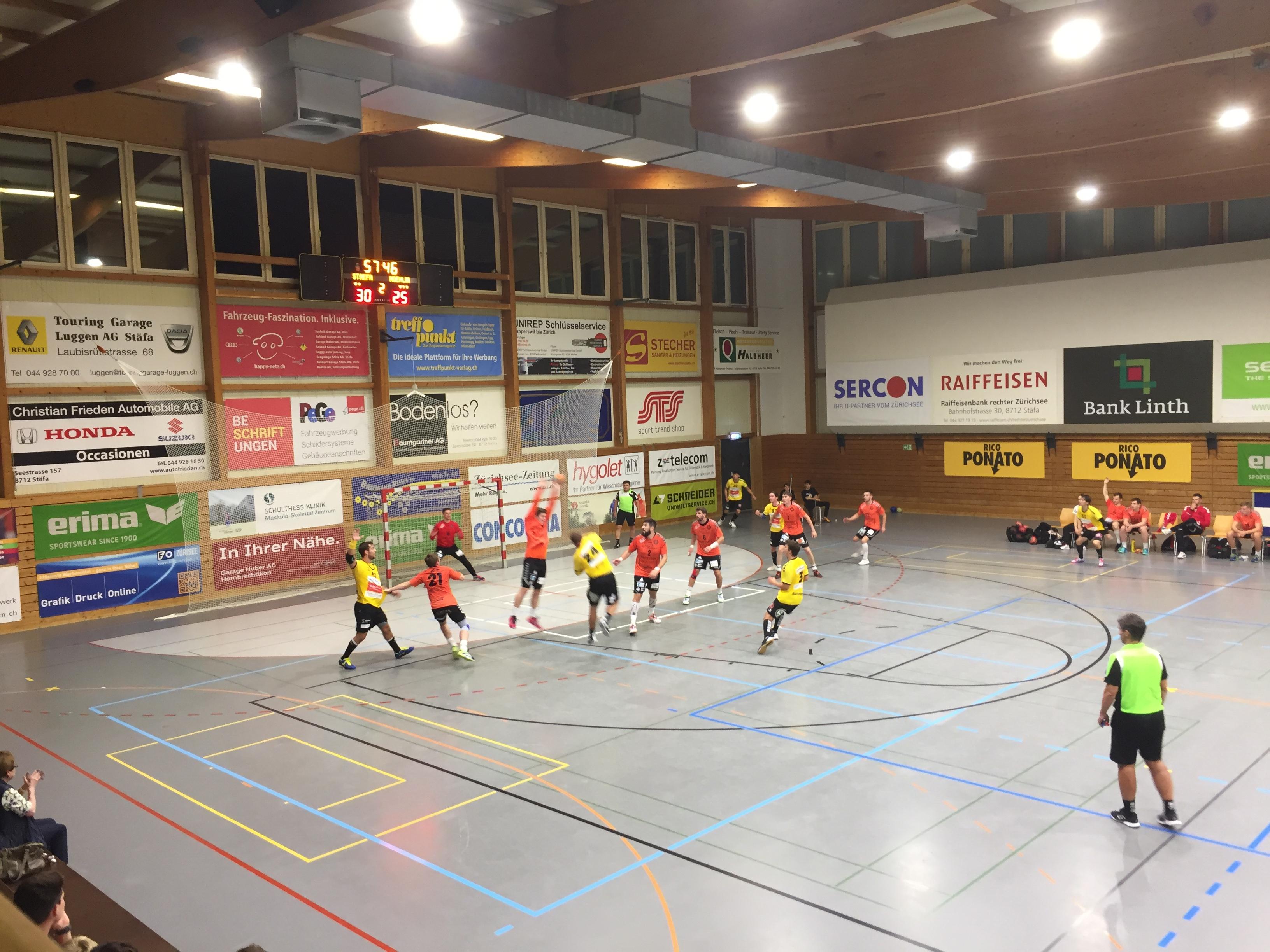 MNLB: Handball Stäfa – SG Yellow Pfadi Espoirs