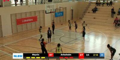 NLB Women – Day 1: MEYRIN vs. BC ARLESHEIM