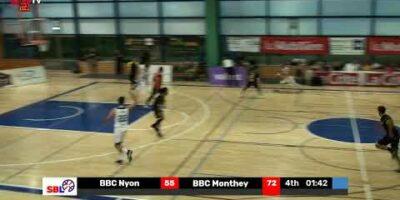 SB League – BBC NYON vs. BBC MONTHEY-CHABLAIS