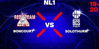 1LNM – BC BONCOURT vs. BC SOLOTHURN