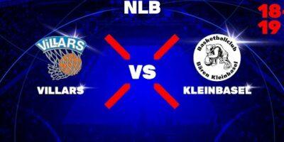 NLB - Day 1: VILLARS vs. KLEINBASEL