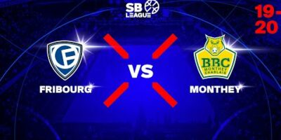 SB League - Day 3: FRIBOURG vs. MONTHEY