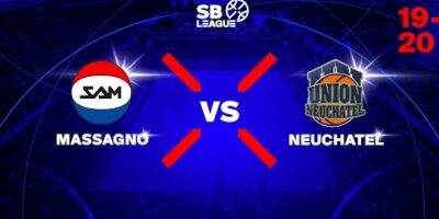 SB League - Day 3: MASSAGNO vs. NEUCHATEL