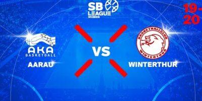 SB League Women - Day 2: AARAU vs. WINTERTHUR