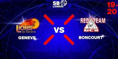 SB League - Day 3: GENEVE vs. BONCOURT