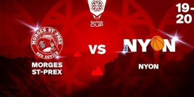 COUPE SUISSE M - Day 1-16: MORGES vs. NYON