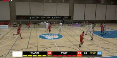COUPE SUISSE M - Day 1-16: VILLARS vs. PULLY
