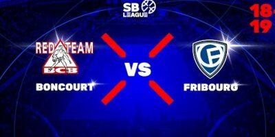 SB League - Day 1: BONCOURT vs. FRIBOURG