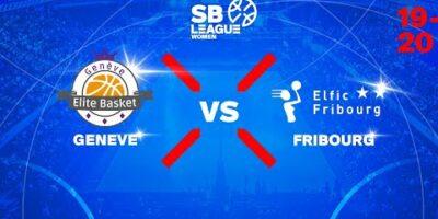 SB League Women - Day 1: ELITE vs. FRIBOURG