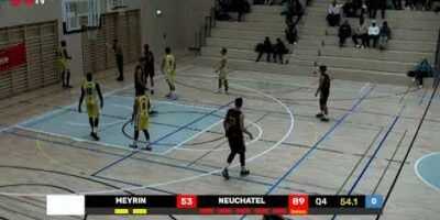 COUPE SUISSE M - Day 1-16: MEYRIN vs. NEUCHATEL