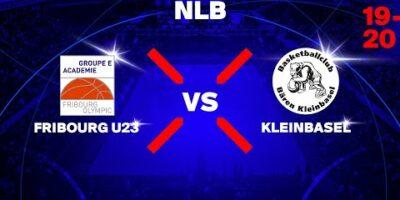 NLB - Day 3: FRIBOURG vs. KLEINBASEL