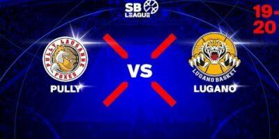SB LEAGUE - DAY 3: PULLY VS LUGANO