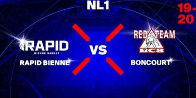 NL1M - Day 2: BIENNE vs. BONCOURT