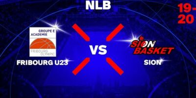 NLB - Day 2: FRIBOURG vs. SION