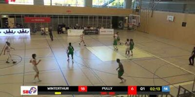 SB League Women - Day 3: WINTERTHUR vs. PULLY