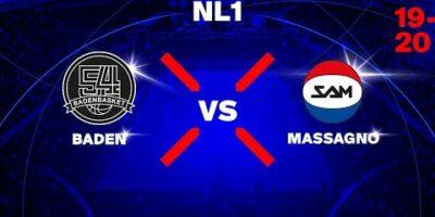 NL1M - Day 9: BADEN vs. MASSAGNO