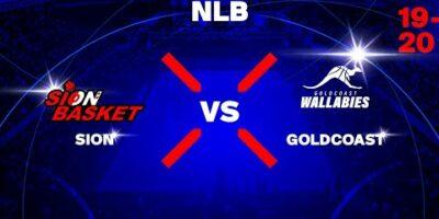 NLB - Day 8: SION vs. GOLDCOAST