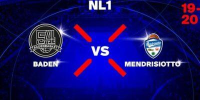 NL1M - Day 7: BADEN vs. MENDRISIOTTO
