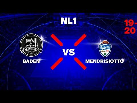 NL1M – Day 7: BADEN vs. MENDRISIOTTO