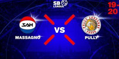 SB League - Day 7: MASSAGNO vs. PULLY LAUSANNE