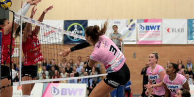 CEV Volleyball Challenge Cup: Sm'Aesch Pfeffingen - Ladies in Black Aachen