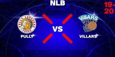 NLB - Day 8: PULLY LAUSANNE vs. VILLARS