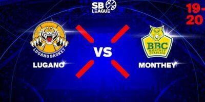 SB League - Day 8: LUGANO vs. MONTHEY